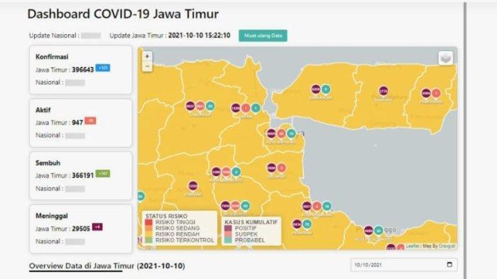 Update Virus Corona di Surabaya: Turun 10 Kasus, Masyarakat Jatim Diminta Tetap Taat Protokol
