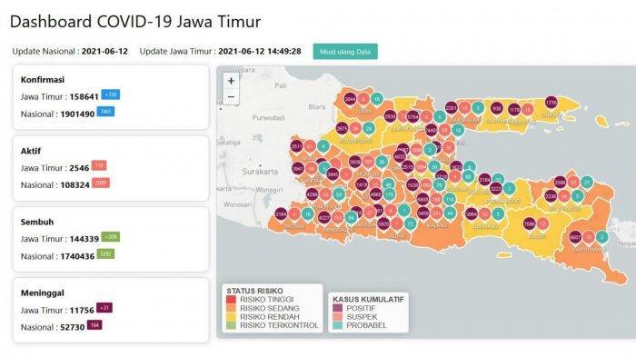 Update Virus Corona Surabaya Sabtu 12 Juni 2021: Penyekatan di Suramadu Diperketat, Petugas Ditambah