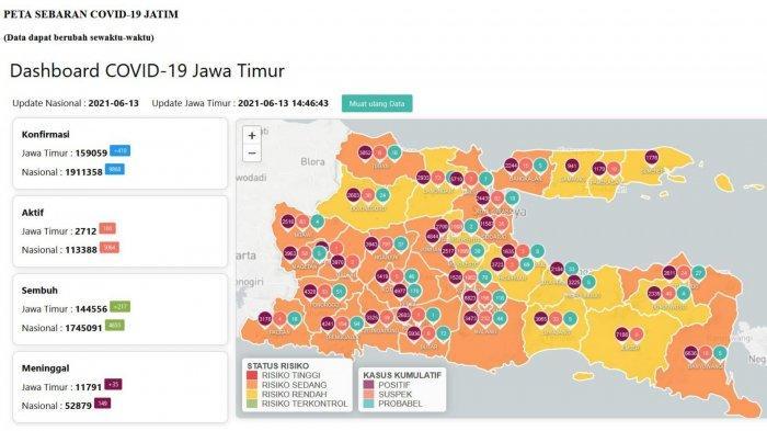 Update Virus Corona di Surabaya 14 Juni 2021, Info Lonjakan Kasus Covid-19 & PPKM Mikro