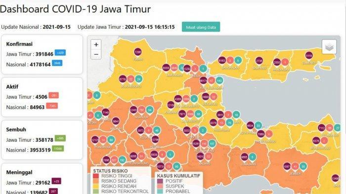 Update Virus Corona Surabaya 15 September 2021: Gubernur Khofifah Optimis COVID-19 Terkendali