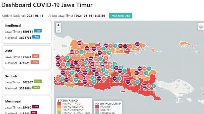 Update Virus Corona Surabaya 16 Agustus 2021: Pemkot Operasikan 22 Mobil Vaksin Keliling