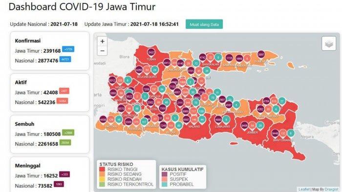 Update Virus Corona Surabaya 18 Juli 2021: Lokasi Vaksinasi COVID-19 Gratis, Antri Besok Pagi