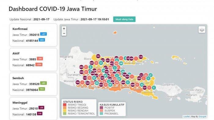 Update Virus Corona Surabaya 18 September 2021: Turunnya Level PPKM Menurut Pakar Epidemologi