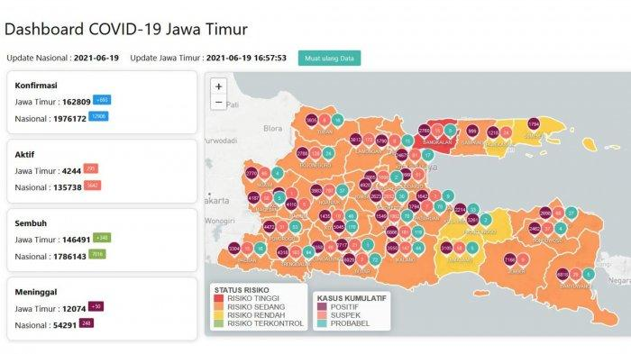 Update Virus Corona di Surabaya 20 Juni: Total 8 Kasus Varian Delta dan Klaim PPKM Mikro Efektif