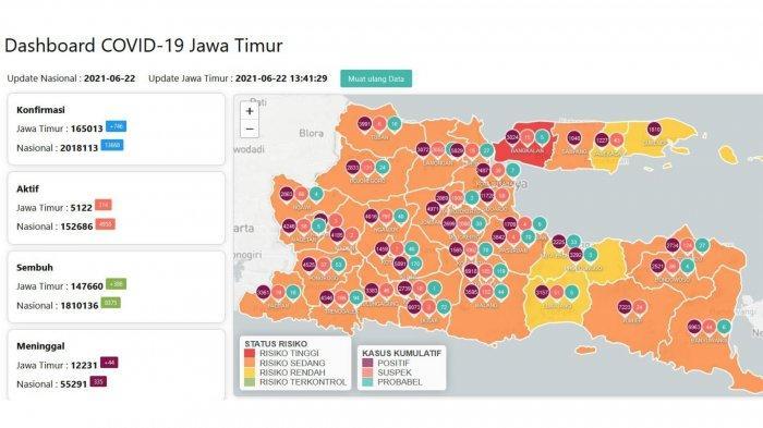 Update Virus Corona Surabaya 22 Juni 2021: PPKM Mikro Diperkatat Mulai Besok, Ini Aturan Lengkapnya