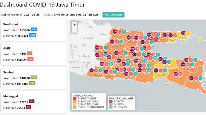 Update Virus Corona di Surabaya 24 Juni: Pos Penyekatan di Bangkalan Dibongkar & Tanggapan Khofifah