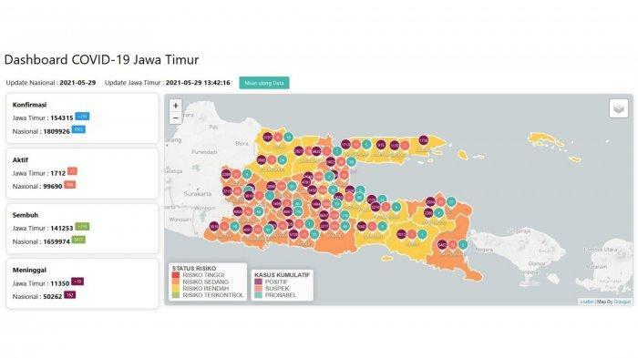 Update Virus Corona Surabaya, Sabtu 29 Mei 2021: PPKM Mikro Lanjut, Ini Syarat Lolos Penyekatan