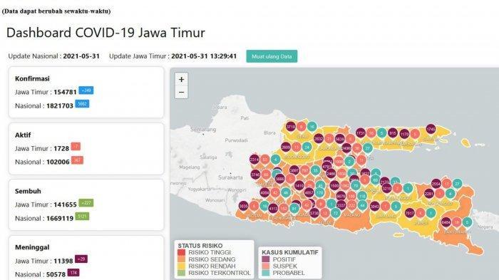 Update Virus Corona di Surabaya 1 Juni 2021, Aturan PPKM Mikro Mulai Hari Ini Hingga 14 Juni