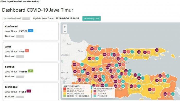 Update Virus Corona Surabaya, 6 Juni 2021: Penyekatan di Suramadu Jaring 50 Orang Positif COVID-19