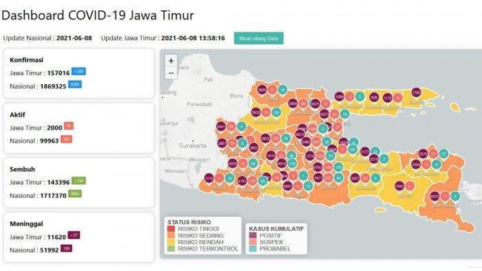 Update Virus Corona Surabaya 8 Juni 2021: 7000 Tes COVID-19 Dilakukan Saat Penyekatan di Suramadu