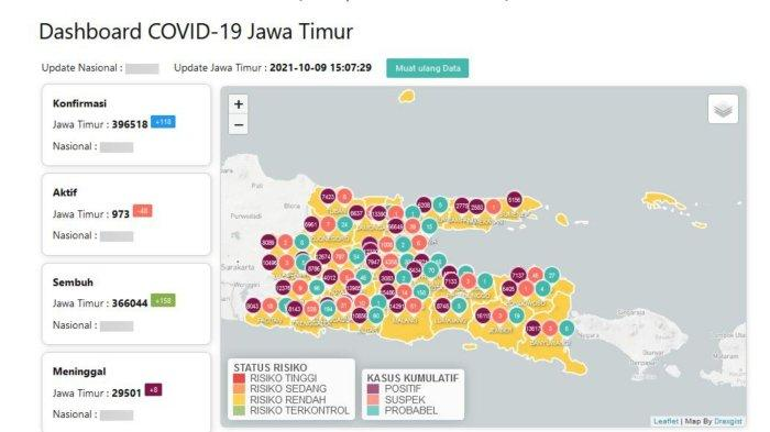 Update Virus Corona Surabaya 10 Oktober: Tren Positif, RS Lapangan Indrapura Nol Pasien Covid-19