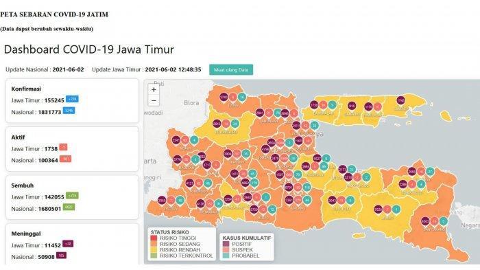 Update Virus Corona di Surabaya 3 Juni 2021, Gubernur Waspadai Lonjakan Kasus & Sekolah Tatap Muka