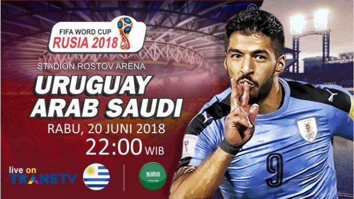 Piala Dunia 2018: Prediksi Susunan Pemain Uruguay vs Arab Saudi, Akankah Ada Pembantaian Lagi?