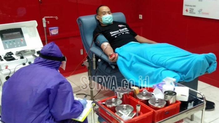 Antrean Permintaan Donor Plasma Konvalesen di PMI Surabaya Makin Banyak
