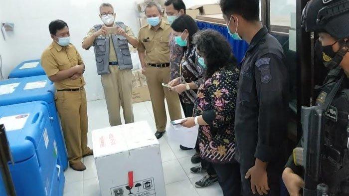 2.000 Dosis Vaksin Tiba di Trenggalek, 10 Pejabat dan Tokoh Agama Disuntik Pertama pada 29 Januari