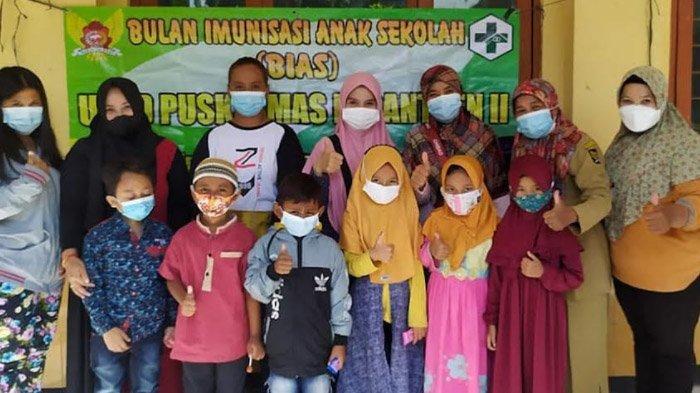 Tak Lengah saat Sibuk Vaksinasi Covid-19, Pemkot Kediri Gencarkan Imunisasi Campak untuk Pelajar SD