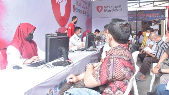 Santunan dan Kegiatan Vaksinasi Covid-19 untuk Tuna Wisma di Kabupaten Lamongan