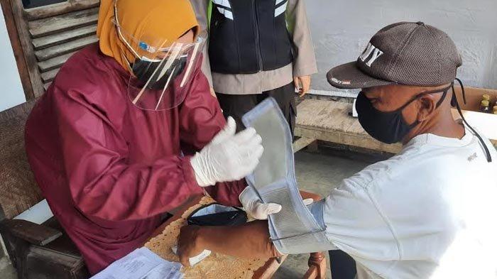 Polres Kediri Kota Kembali Menggelar Vaksinasi Covid-19 Door To Door di Desa Terpencil
