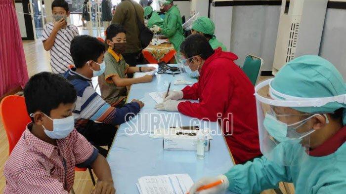 Percepat Capaian Vaksinasi Covid-19, Dinkes Kota Blitar Gelar Vaksin Massal di 5 Lokasi