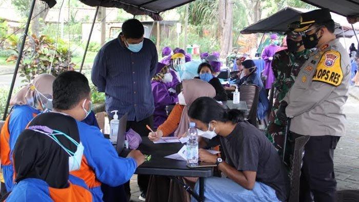 Gelar Vaksinasi Covid-19 Massal dengan 3.000 Peserta di Kota Kediri, Untuk Wujudkan Herd Immunity