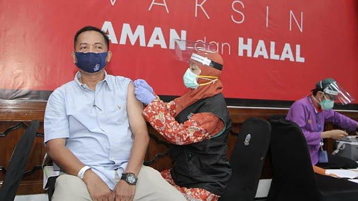 Vaksinasi Gelaran PWI dan Pemprov Jatim Diikuti 442 Wartawan