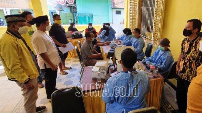 Percepatan Vaksinasi Covid-19 untuk Warga Kota Pasuruan, Partai Golkar Gelar Vaksinasi Massal
