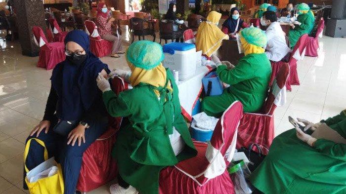Banyak Vaksinator di Nganjuk Tidak Bekerja, Keterbatasan Stok Vaksin Hambat Percepatan Vaksinasi