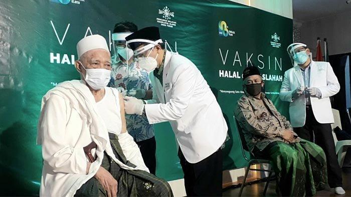 Hari Ini, Puluhan Kiai NU Jawa Timur Disuntik Vaksin Covid-19