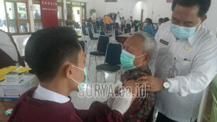 Vaksinasi Covid-19 Mulai Menyasar Lansia di Kabupaten Tuban, Capaian Masih di Bawah 1 Persen