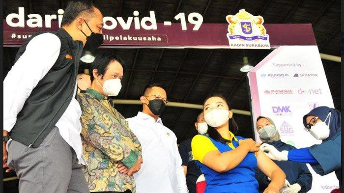 Setelah Raih Herd Immunity, Cak Eri Ingin Surabaya Turun ke PPKM Level 2 Bersama Gresik dan Sidoarjo