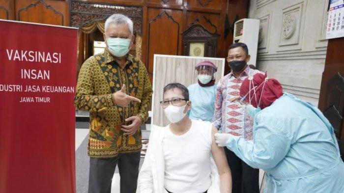 OJK, BI dan Pemprov Jatim Fasilitasi Vaksinasi Covid 19 Untuk 3.000 Insan IJK Jatim