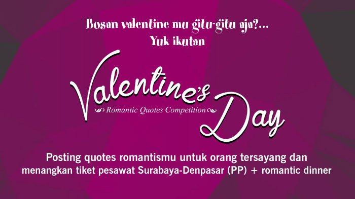 Begini Cara Mudah Menjadikan Valentine Day Kamu Lebih Berkesan