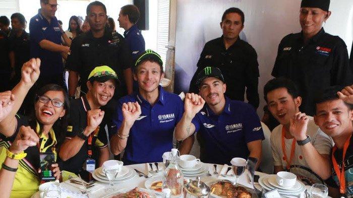 Rossi dan Vinales Sukses Sapa Penggemar Indonesia, Yamaha : Momen Bahagia Tak Akan Terlupakan