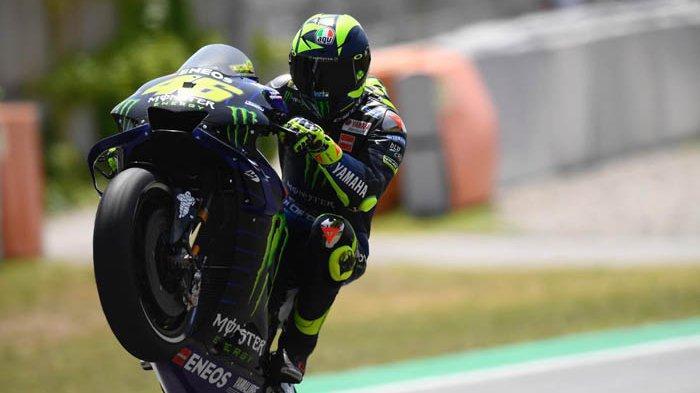 Hasil FP3 MotoGP Catalunya 2019, Alex Rins Jadi Pembalap Tercepat, Rossi Tempati Posisi Ke-4