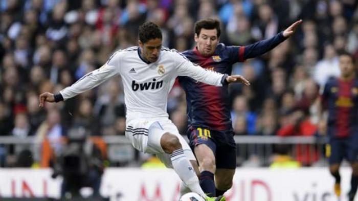 Raphael Varane saat membela Real Madrid