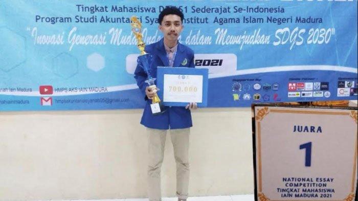 Mahasiswa Universitas Narotama Surabaya Asal Timor Leste Ini Sabet Juara Lomba Essay SACVEDS