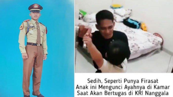 Cerita Sebenarnya Video Viral Awak KRI Nanggala 402 Dilarang Berangkat Anak dan Sosok Lettu Imam Adi