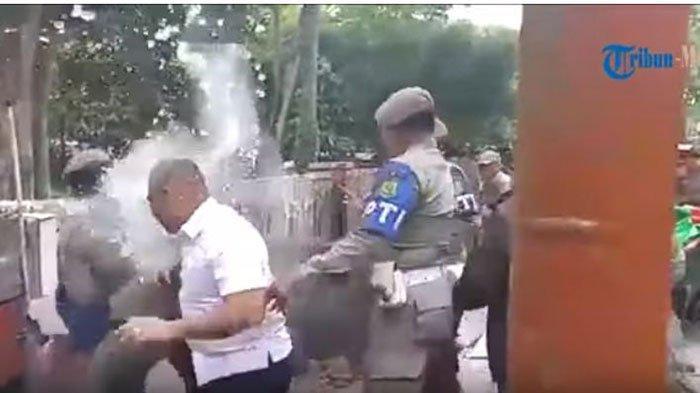 VIDEO Penertiban PKL Medan Ricuh hingga Kepala Satpol PP Kena Siram Air Panas, ini Kondisinya Kini