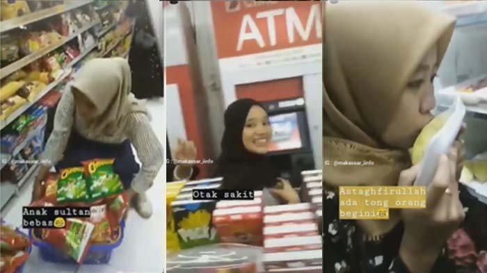 VIDEO VIRAL 7 Mahasiswi Unismuh Makassar Acak-acak Indomaret, Ini Kata Pihak Kampus