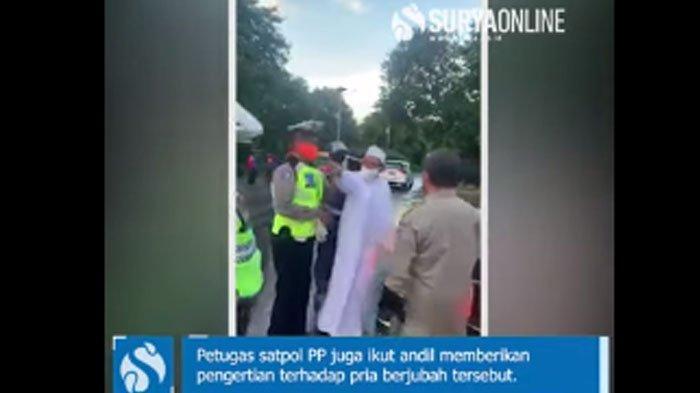Duduk Perkara Habib Umar Assegaf Cekcok dengan Petugas PSBB Surabaya, Berujung Polisi, MUI Bereaksi