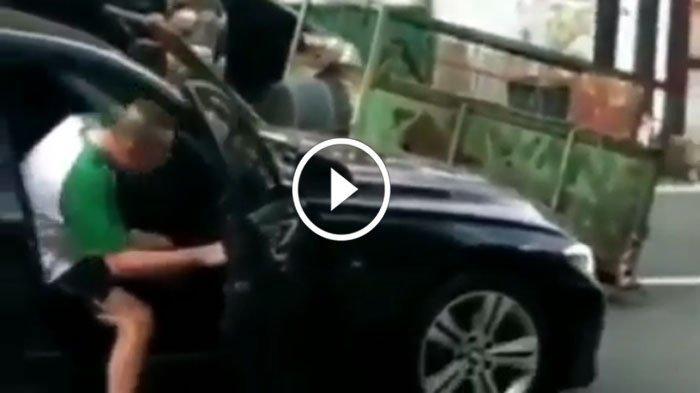 Video Viral Sopir BMW Keluarkan Pistol saat Terjebak Macet, Polisi Bilang Buru Sosoknya