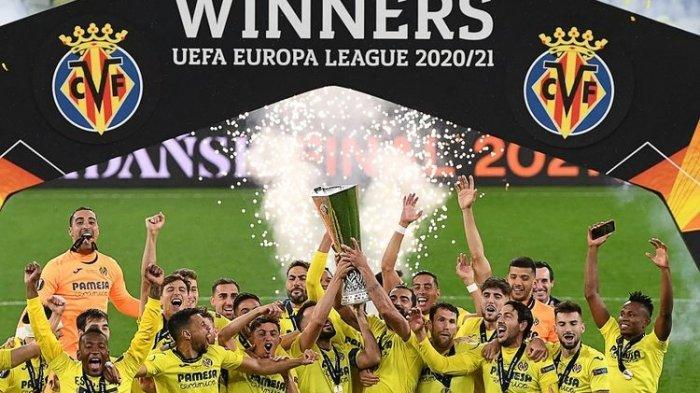 Hasil Final Liga Europa - Villarreal Juara Usai Kalahkan Manchester United Lewat Drama 22 Penalti