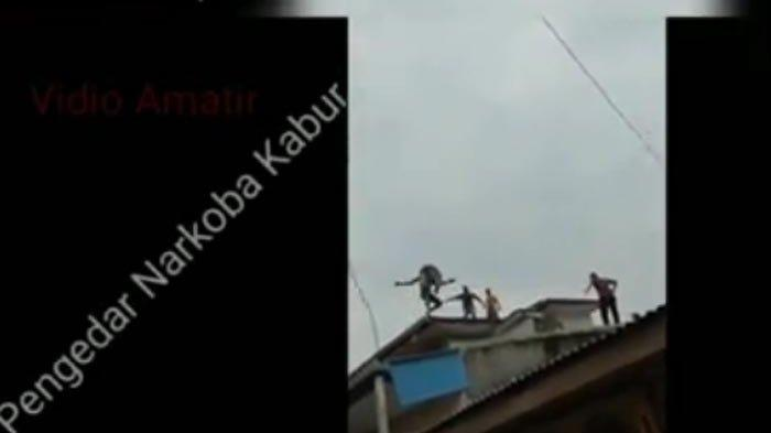 VIRAL di IG, Video Polisi Kejar-kejaran dengan Bandar Narkoba di Atap Rumah Warga. Ini Kronologinya