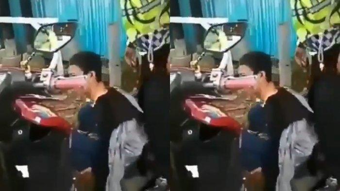 Bukan Banting Motor, Kini Viral di Whatsapp (WA) Pria Nekat Pukuli Polisi Gara-gara Tak Mau Ditilang
