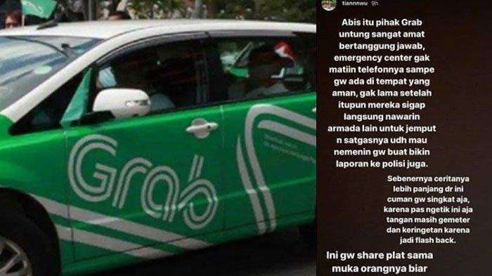 Efek Viral Driver Taksi Online Nyaris Culik Penumpang Cewek, Gagal Berkat Tombol Ini & Respons Grab