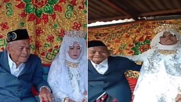 VIRAL Kakek 103 Tahun Nikahi Gadis 30 Tahun, Jawaban saat Ditanya Malam Pertama Langsung Malu-malu