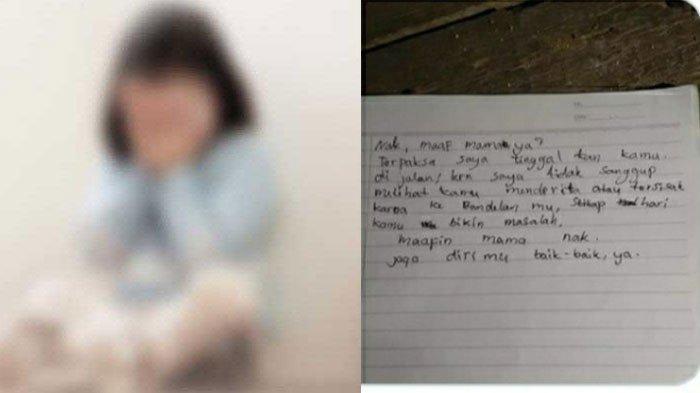 VIRAL Sosok Bocah Diduga Dibuang Orangtuanya dan Disertai Surat 'Maafin Mama Nak', ini Kata Polisi