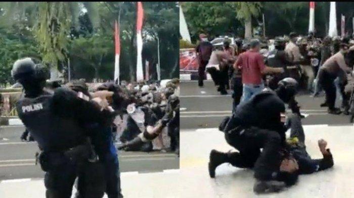 Viral Video Anggota Polisi Banting Mahasiswa di Tangerang, Ini Tindakan Mabes Polri