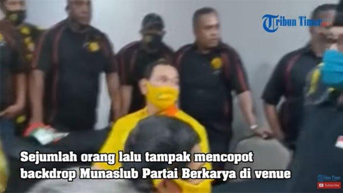 VIRAL Video Tommy Soeharto dan Pengawalnya Bubarkan Munaslub Partai Berkarya Pendukung Jokowi