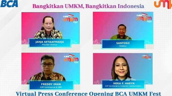 Disiapkan Jadi E-Commerce, BCA UMKM Fest Gandeng 1.700 Merchant UMKM